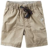 Carter's Baby Boy Pull-On Woven Poplin Shorts