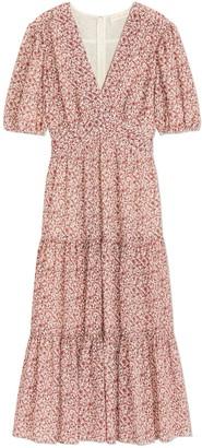 Tory Burch Printed Cotton-Silk Dress