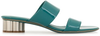 Salvatore Ferragamo Patent Leather Sandals