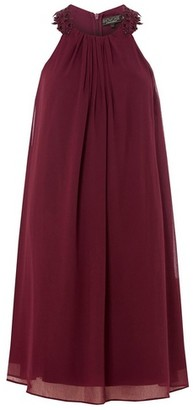 Dorothy Perkins Womens Showcase Red 'Alanna' Trapeze Dress, Red