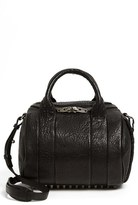 Alexander Wang 'Rockie - Black Nickel' Leather Crossbody Satchel