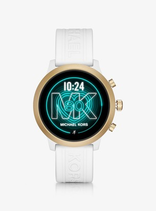 Michael Kors Gen 4 MKGO Gold-Tone and Silicone Smartwatch