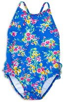 Ralph Lauren Girls' Floral Swimsuit - Baby