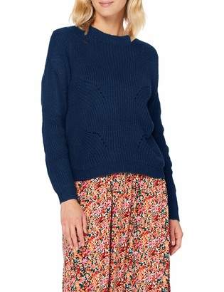 JDY Women's JDYNEWDAISY L/S Structure PULLO KNT NOOS Sweater