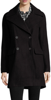 Vince Camuto Women's Double Breast Wool-Blend Coat