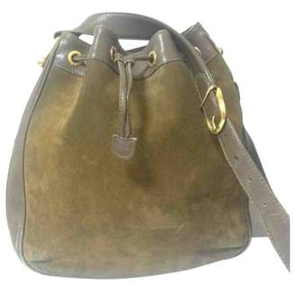 Gucci Hobo Brown Suede Handbags