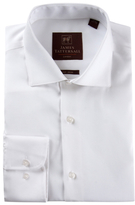 James Tattersall Solid Non-Iron Dress Shirt