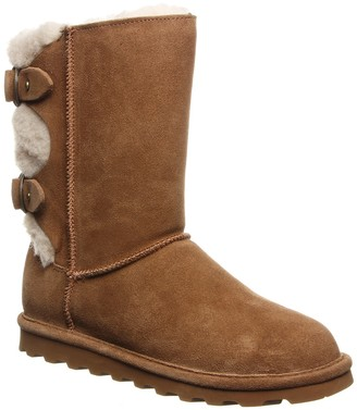 BearPaw Eloise Wide Suede Ankle Boot