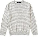 Nautica Snow Cotton Striped Pullover Sweater