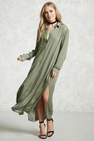 Forever 21 Contemporary Maxi Shirt Dress