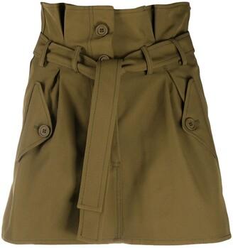 ATTICO Tie-Waist Skirt