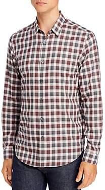 Theory Betton Check Regular Fit Shirt