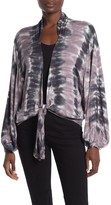 Young Fabulous & Broke Yfb By Meia Open Front Tie Cardigan