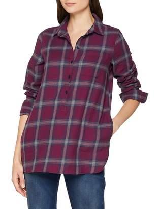 Fat Face Women's Tilly Check Longline T - Shirt