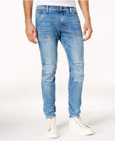 G Star Men's Extra Slim-Fit Light Aged Jeans