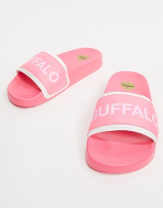 Buffalo David Bitton Pool Slide in Pink