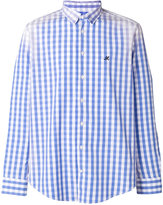 MSGM check shirt - men - Cotton - 39