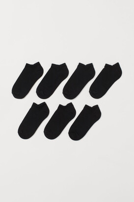 H&M 7-pack Ankle Socks - Black