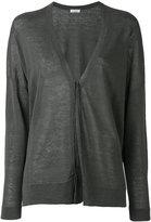 Brunello Cucinelli longsleeve cardigan - women - Linen/Flax/Polyamide - L
