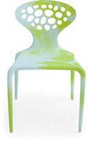 Moroso Supernatural Chair - Multicolour - White / Fluo Green
