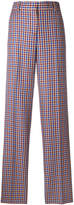 Tory Burch high-waisted checked trousers