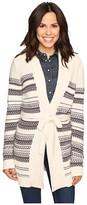 Olive + Oak Olive & Oak Long Sleeve Baja Open Belted Sweater