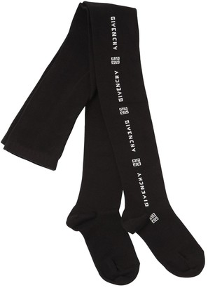 Givenchy Cotton Blend Knit Tights