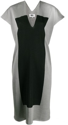 MM6 MAISON MARGIELA panel shift dress
