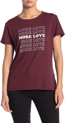Sub Urban Riot More Love Slouched T-Shirt