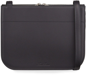 Loro Piana My Way Petite Leather Crossbody Bag