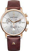 Maurice Lacroix Eliros EL1098-PVP01-111-1 rose gold-plated PVD watch