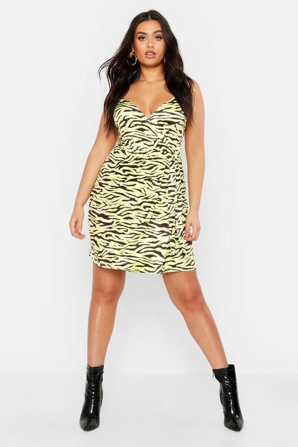 5a0a80445f24 boohoo Yellow Print Dresses - ShopStyle
