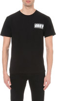 Obey Brickwall Cotton-jersey T-shirt