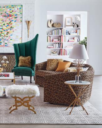 Haute House Kylee Leopard Sofa 126