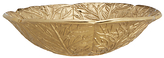 John Lewis Boutique Hotel Leaf Serving Bowl, Gold, Dia.31cm