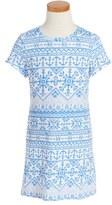 Vineyard Vines Anchor Print T-Shirt Dress (Little Girls)