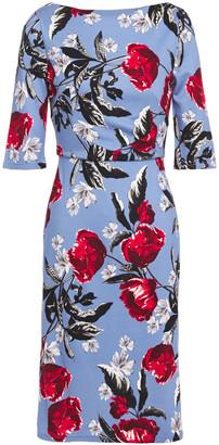 Erdem Floral-print Stretch-jersey Dress