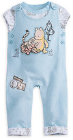 Disney Winnie the Pooh Layette Knit Dungaree Set for Baby