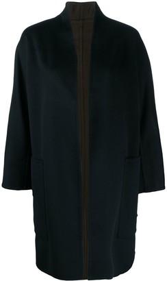 Vince Reversible Open-Front Cardi-Coat