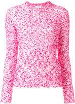 Carven crew neck jumper - women - Cotton/Acrylic/Polyamide - M