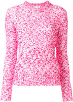 Carven crew neck jumper - women - Cotton/Acrylic/Polyamide - S