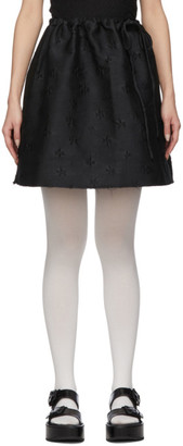 SHUSHU/TONG Black Bow Skirt