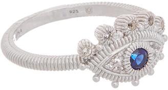 Judith Ripka Little Luxuries Silver White Topaz Ring