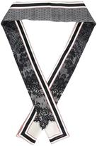 DSQUARED2 lace print scarf