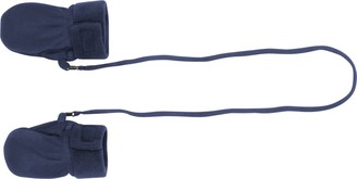 Playshoes Baby Fleece Gloves (Blue 6 - 12 Months)