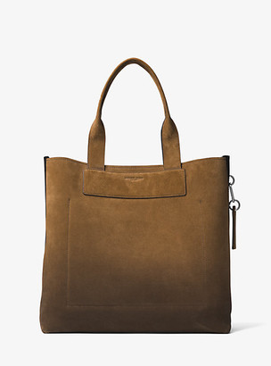 Michael Kors Henry Large Suede Tote - Tobacco