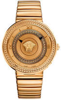 Versace V-Metal Icon Analog Rose Goldtone Bracelet Watch