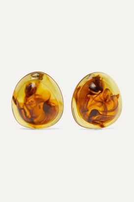 Valet Studio Felicity Tortoiseshell Resin Earrings