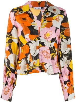 Rixo Daria floral print blouse