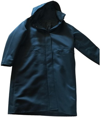 Cos Blue Synthetic Coats